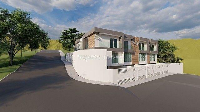 São Pedro - .Casa nova com 3 quartos, suíte e 2 vagas de garagem - Foto 3