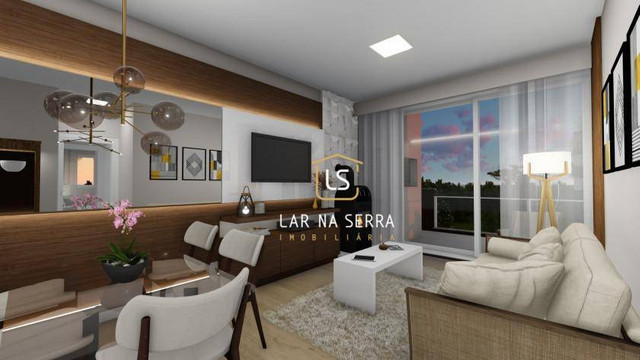 Apartamento com 1 dormitório à venda, 94 m² por R$ 369.600,00 - Centro - Canela/RS - Foto 3