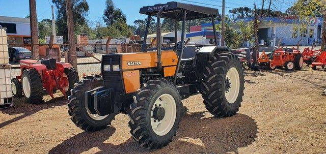 Trator Agrícola Valtra 785 Traçado 4x4, Ano 2001, Motor MWM Novo. - Foto 3