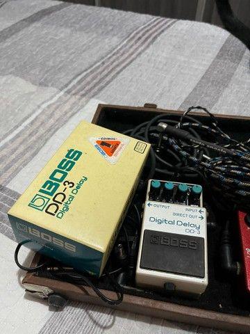 Pedal Boss Digital Delay DD3 com caixa  - Foto 3