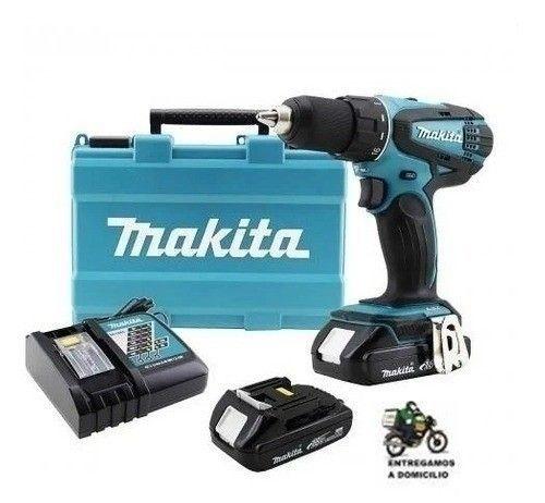 Parafusadeira Furadeira 18v 2 Baterias Ddf456rhe Makita