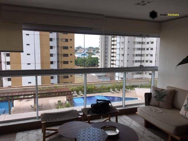 Apartamento Mobiliado com 3 suítes à venda, 142 m² por R$ 1.600.000 - Royal Park - Campo G - Foto 2