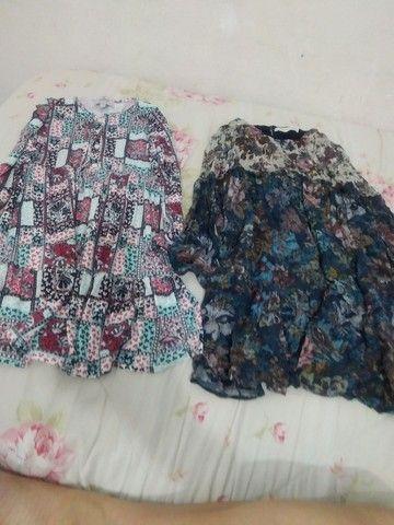 Vestidos para meninas de 8 anos da Zara e Renner