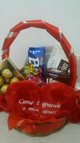 Cestas de chocolates para Páscoa  - Foto 2
