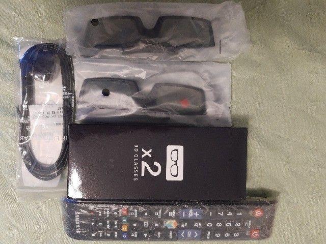 Smart Tv Slim Led 3d 46 Samsung un46f6400 Full Hd - Foto 6