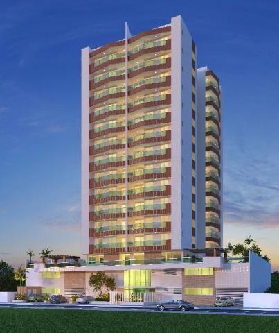 Apartamento Le Monde á 600m da Orla de Atalaia - 3/4 com 2 suítes e 98m - Na Planta