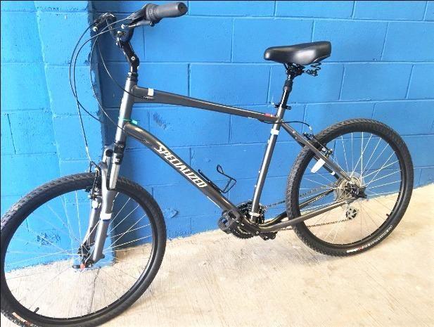 Bicicleta Bike specialized urbana conforto aro 26 como nova parcelo