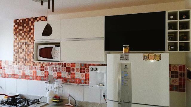 Ágio apto reformado com 2 quartos com suite, Bello Mare - Valparaiso