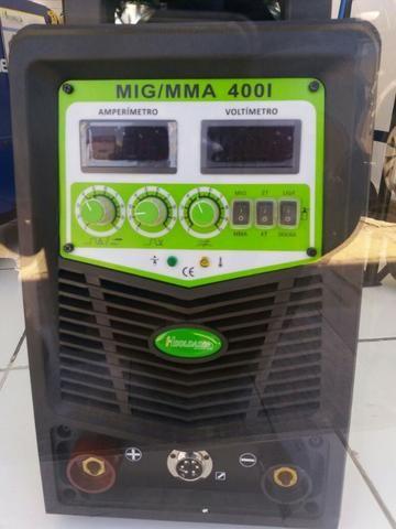 Maquina de Solda MIG/MMA 400i 220/380V Hylong