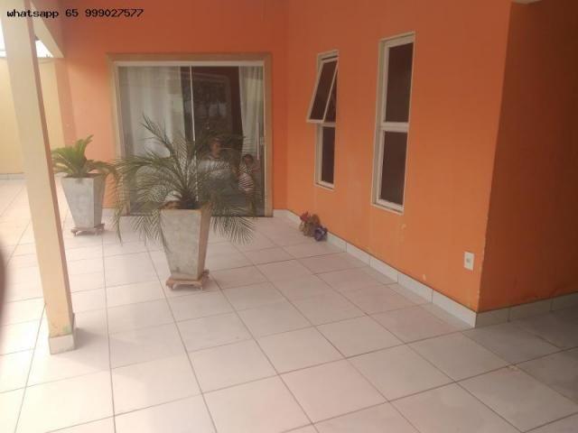 Casa para Venda em Várzea Grande, Ouro Verde, 3 dormitórios, 1 suíte, 3 banheiros, 4 vagas - Foto 5