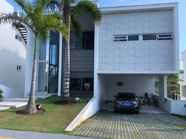 Casa Alphaville II Triplex 500m² 4 suítes piscina com Borda Decorada Alto luxo
