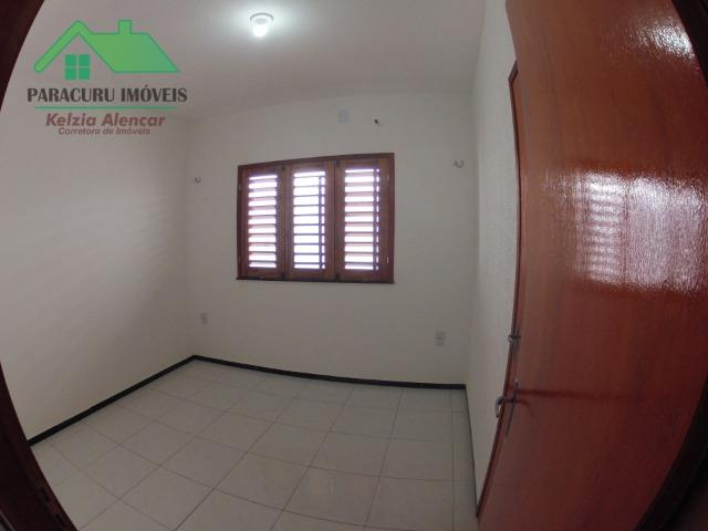 Ampla casa nova de três quartos financiada em Paracuru - Foto 7