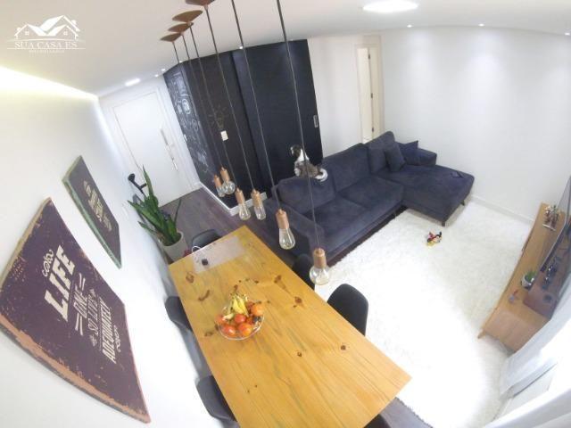 Belíssimo apartamento - Resid. Valparaíso I, 02 Quartos, Armários modulados e Rebaixamento
