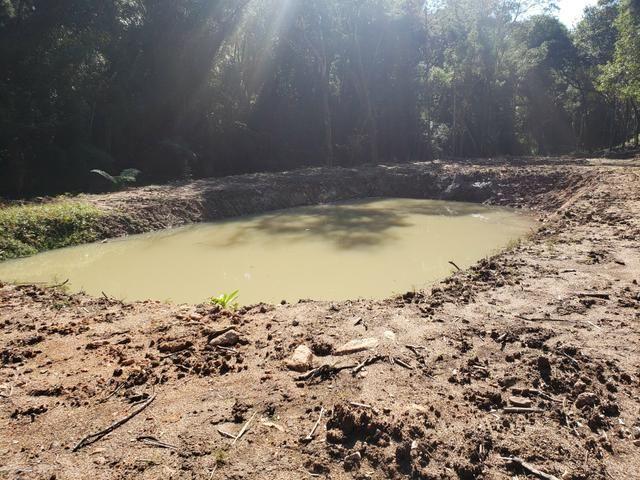 Chácara Agudos do Sul - 50 mts da Br c/ Tanque e rio