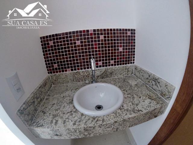 Casa Duplex 3 Quartos c/ Suíte em Manguinhos - Quintal Privativo - Serra - ES - Foto 14
