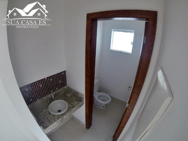 Casa Duplex 3 Quartos c/ Suíte em Manguinhos - Quintal Privativo - Serra - ES - Foto 5
