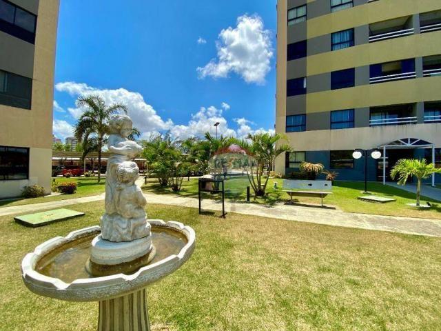 Apartamento com 2 dormitórios à venda, 59 m² por r$ 190.000 - pitimbu - natal/rn sun garde - Foto 13