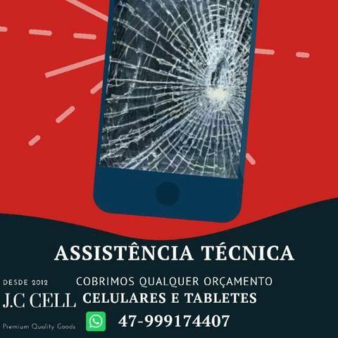 Assistência técnica celulares, tablet e computador