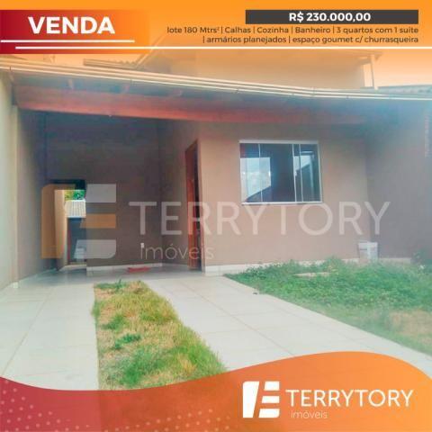 Casa à venda com 3 dormitórios em Polocentro 2ª etapa, Anápolis cod:CA00200