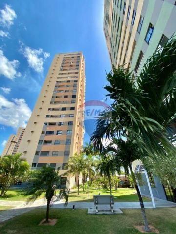 Apartamento com 2 dormitórios à venda, 59 m² por r$ 190.000 - pitimbu - natal/rn sun garde - Foto 14