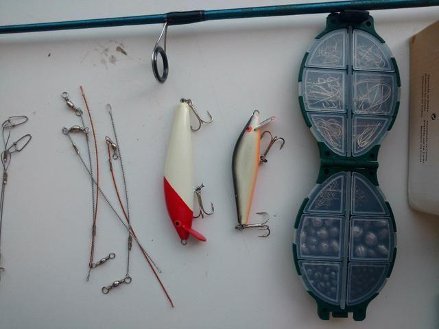 Kit de pesca novo