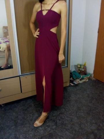 Vestido Vinho - Foto 4