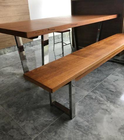 Mesa com Banco - Foto 2