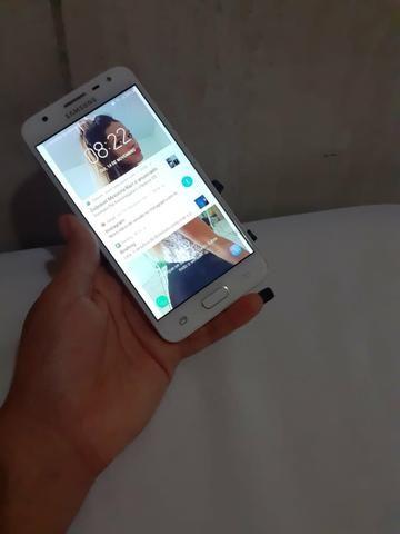 VENDE-SE Celular Samsung J5 Prime Semi Novo - Foto 3