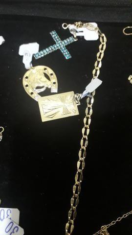 Semi jóias folheadas com garantias - Foto 2