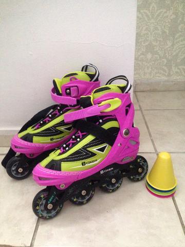Patins INLINE Oxer Monster ABEC 7 - Foto 3
