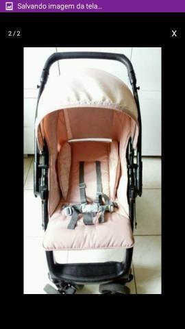 Vendo Carrinho de bebê rosa