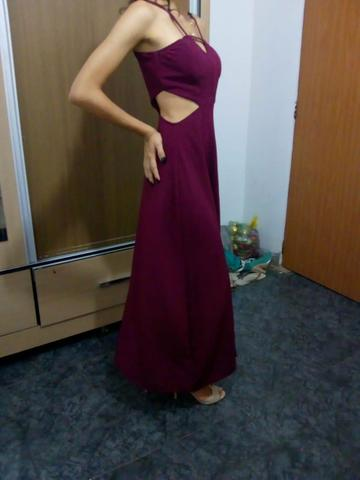 Vestido Vinho - Foto 3