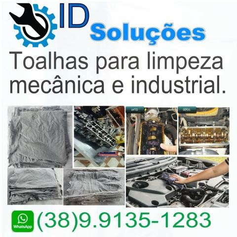 Pano para limpeza - Toalha Industrial - Trapo sem costura