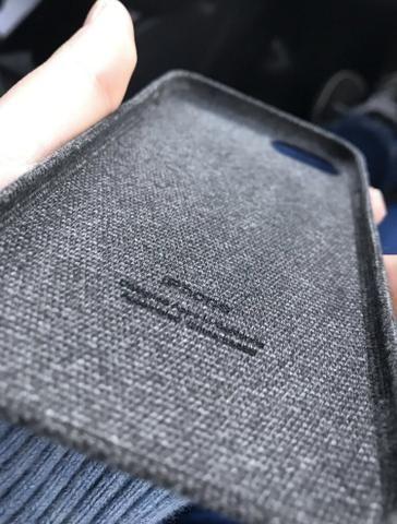 Capinha de tecido iPhone 7/8 - Foto 2
