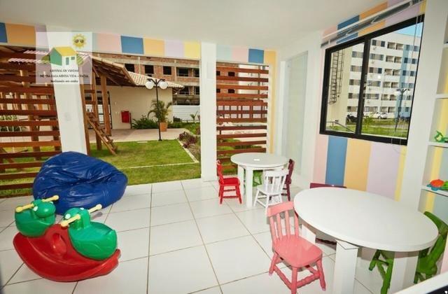 2 ou 3Dorm| 54 a 67m²| Melhor Residencial de Parnamirim| Financie pelo MCMV com Facilidade - Foto 9