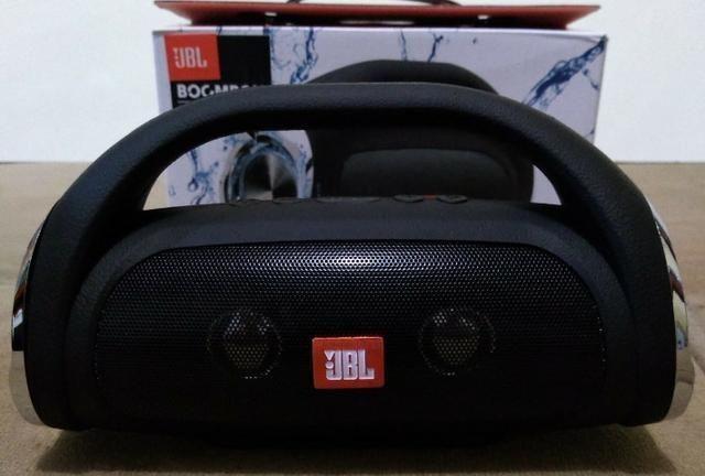 Mini Bombox JBL, Com Agudos e Graves Excelentes C/ Bluetooth - Foto 2