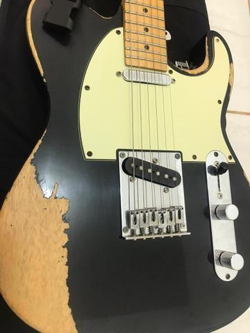 Guitarra Tagima T 405 Antique + brinde capa Gibsun - Foto 4
