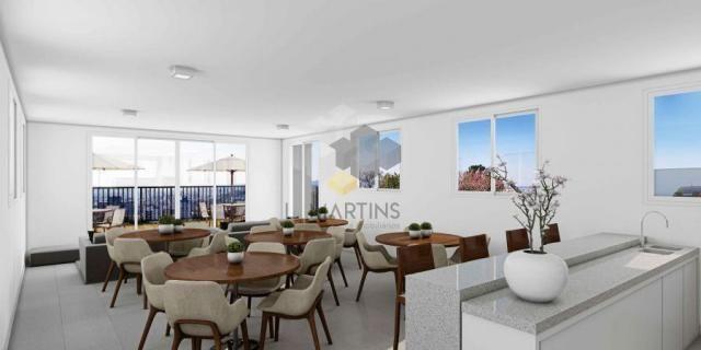 Apartamento para venda em novo hamburgo, rondônia, 2 dormitórios, 1 banheiro, 1 vaga - Foto 5