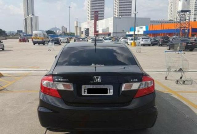 Honda Civic 1.8 Lxl 16v Flex Automatico - Foto 4