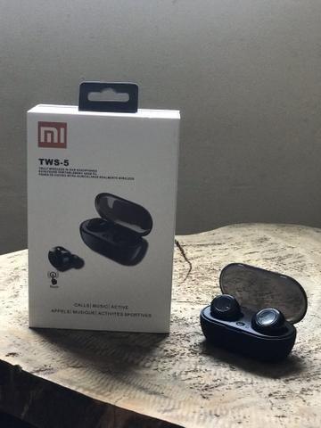 Megah-Preço-Fone Xiaomi Redmi Mi Earbuds Preto Bluetooth 5.0 Tws-5 - Foto 3