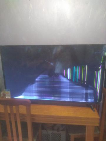 Tv 49 polegadas para retirada de peças - Foto 2