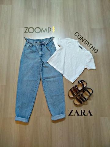 Calça Zoomp Mom Jeans tam 42