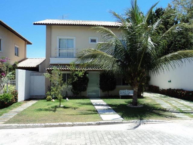 CA0597 - Casa duplex em condomínio com 3 suítes, 3 vagas e lazer no Eusébio