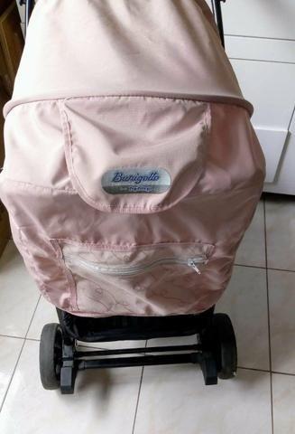 Vendo Carrinho de bebê rosa - Foto 2