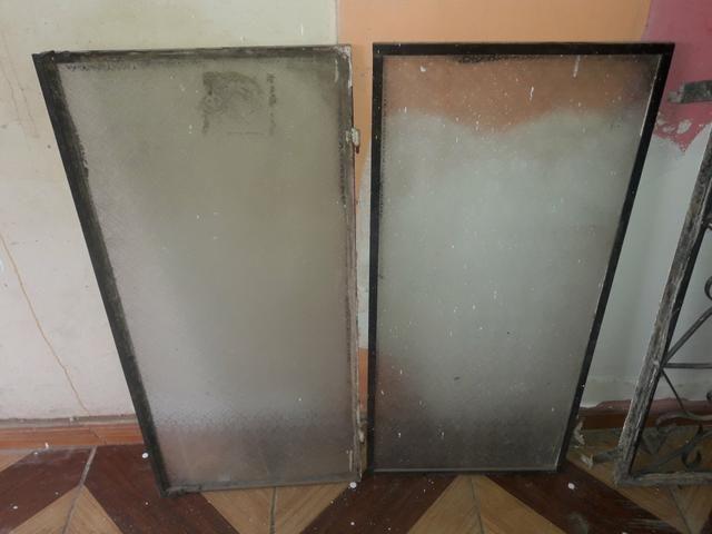 Uma janela e uma grade