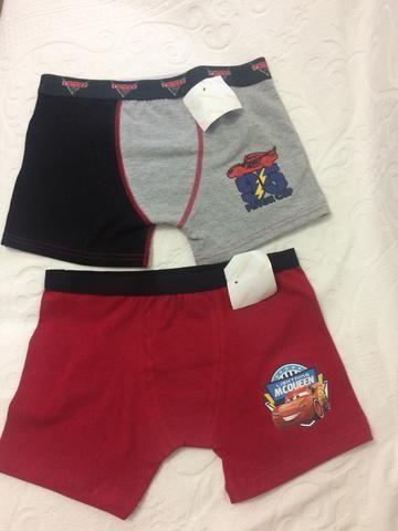 Cueca Boxer Infantil Lupo Disney - Foto 2