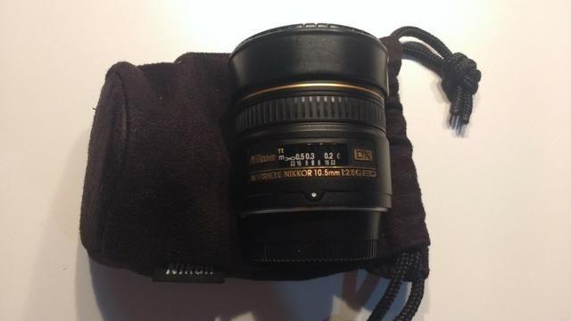 Lente para Nikon Nikkor AF 10.5mm