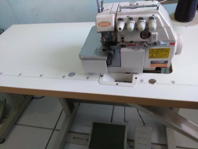 3 máquinas de costura industrial