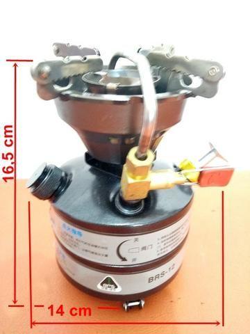 Fogareiro multi combustível BRS 12; novo - Foto 4