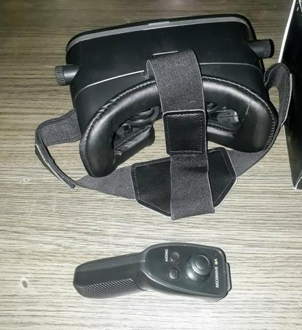 Óculos realidade virtual + controle - Foto 3